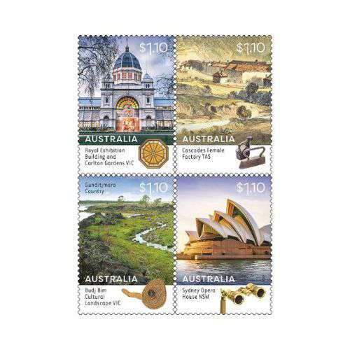 Budj Bim Cultural Landscape honoured with Commemorative Stamp