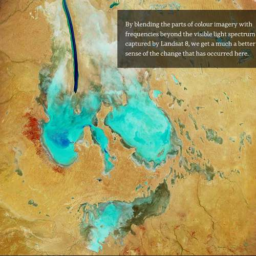 Lake Eyre from Space!