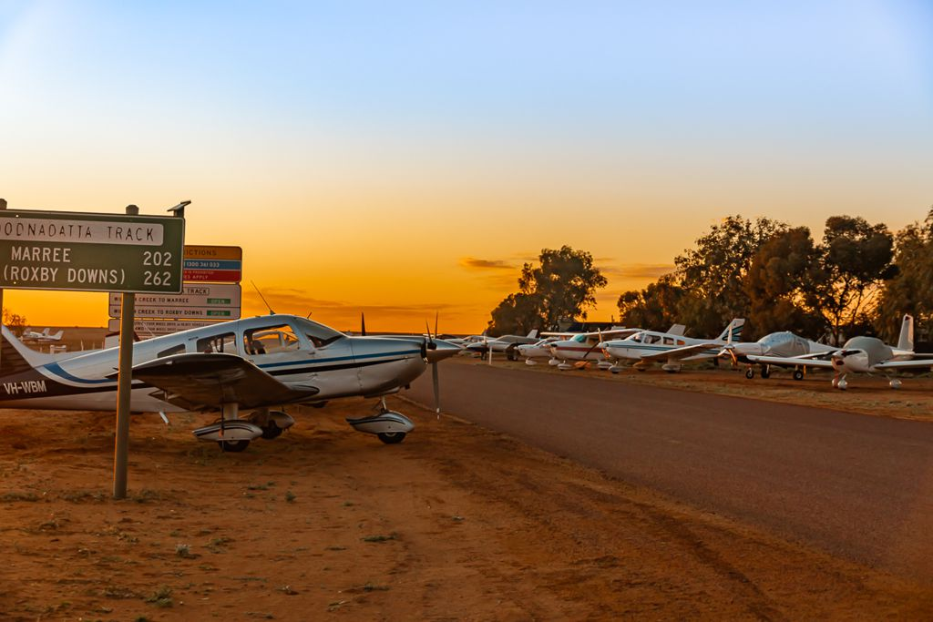 William Creek 3rd Annual Outback Fly-in - a huge success!