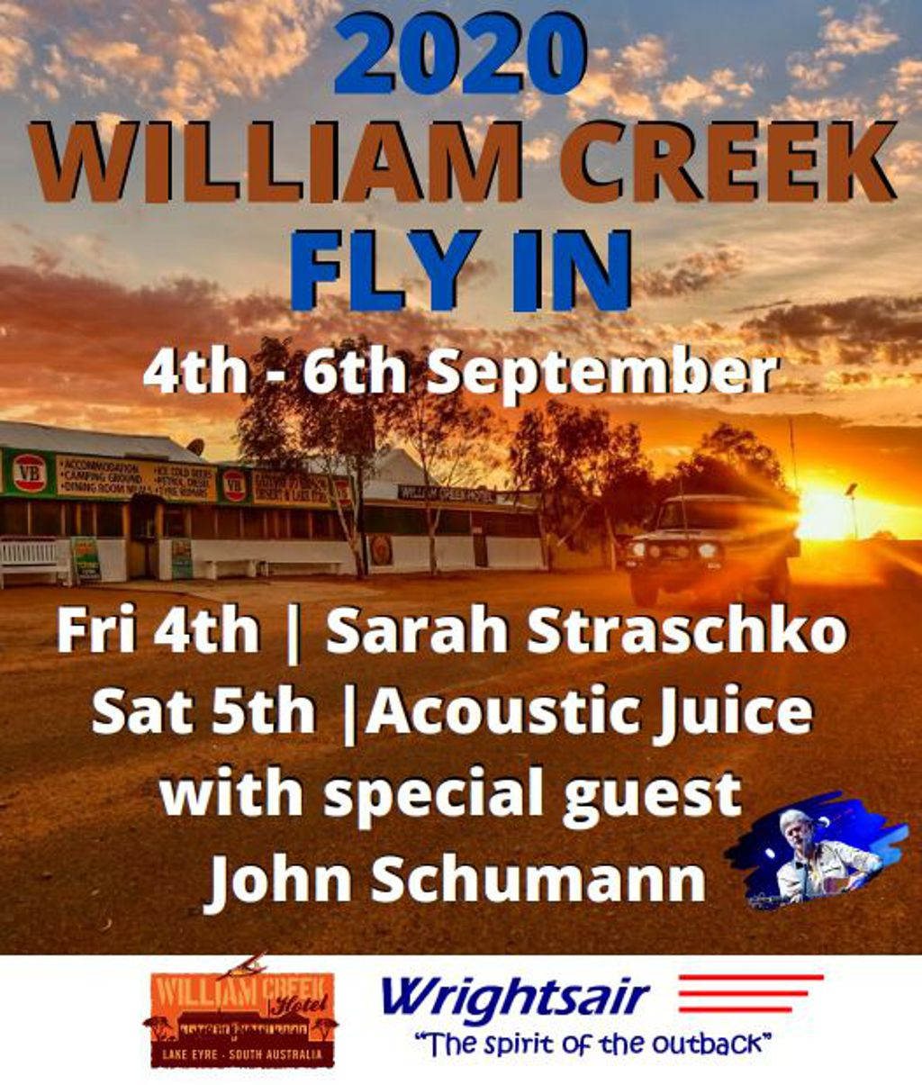 William Creek Sept 2020 FLY-IN