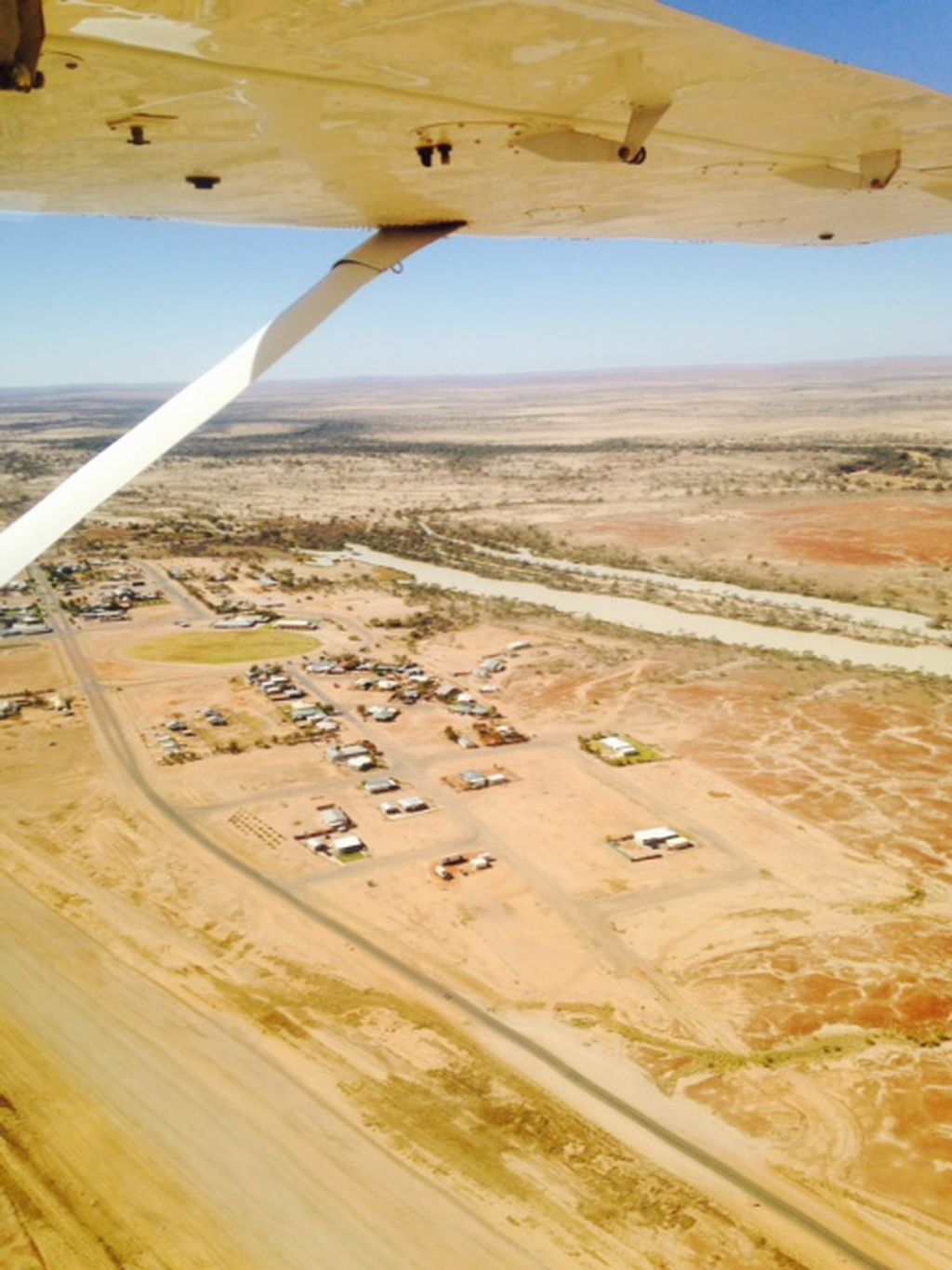Wrightsair Flights from Birdsville!